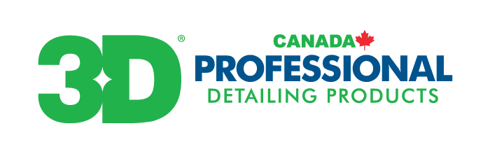 Logo, 3D Canada Professional Detailing Products