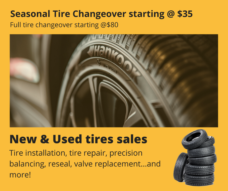 Used Tires Oshawa >> Trilogy Auto Tires Tires And Tire Services In Oshawa